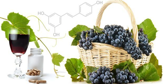para que serve o resveratrol do vinho