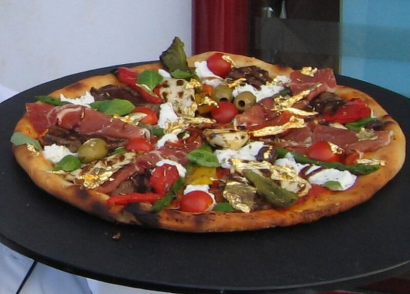 Pizza Royale 007 - alimentos mais caros do mundo